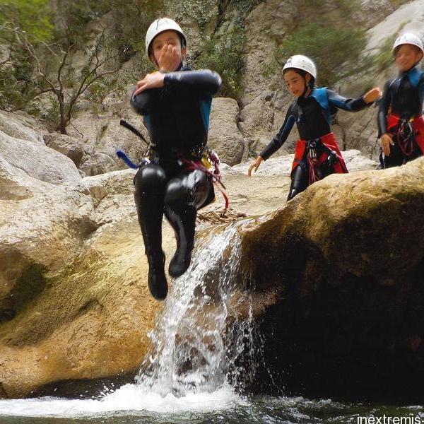 Bon cadeau canyoning Gorges de Galamus