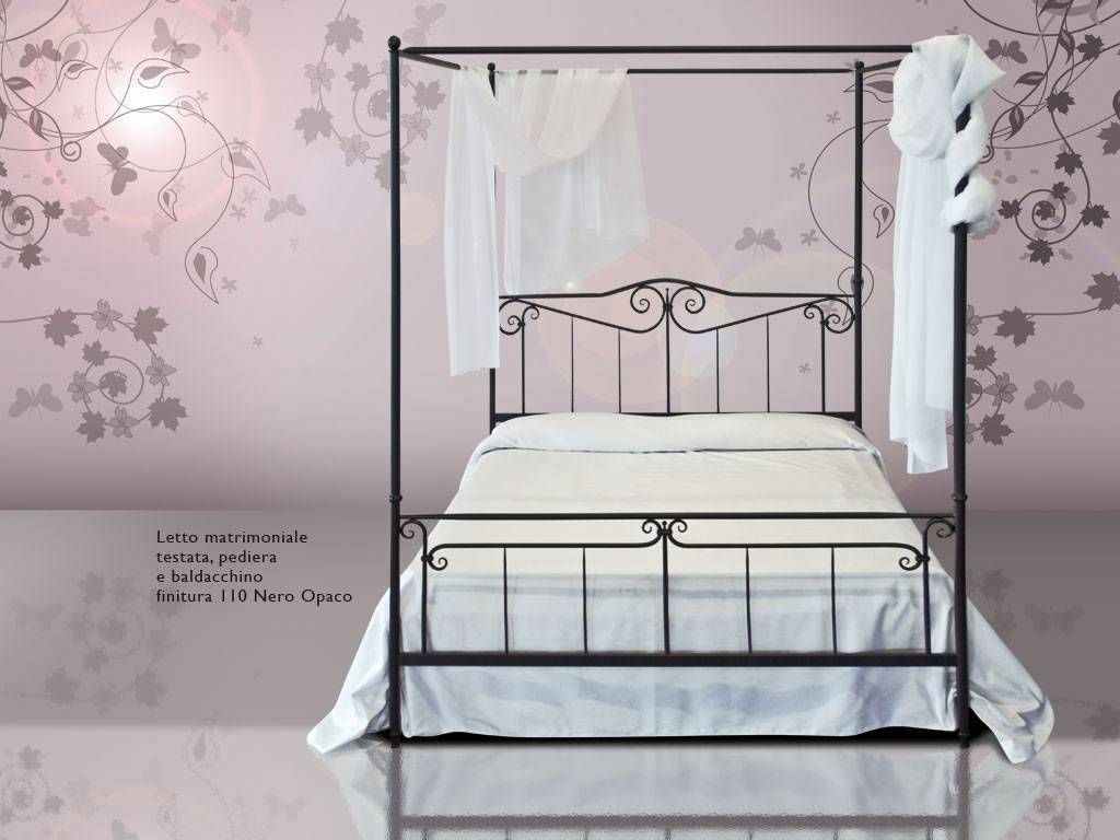Wrought Iron Poster Bed Casanova