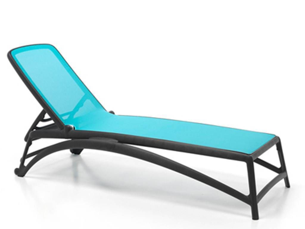 ANTHRACITE Sunbed In Polypropylene Atlantico