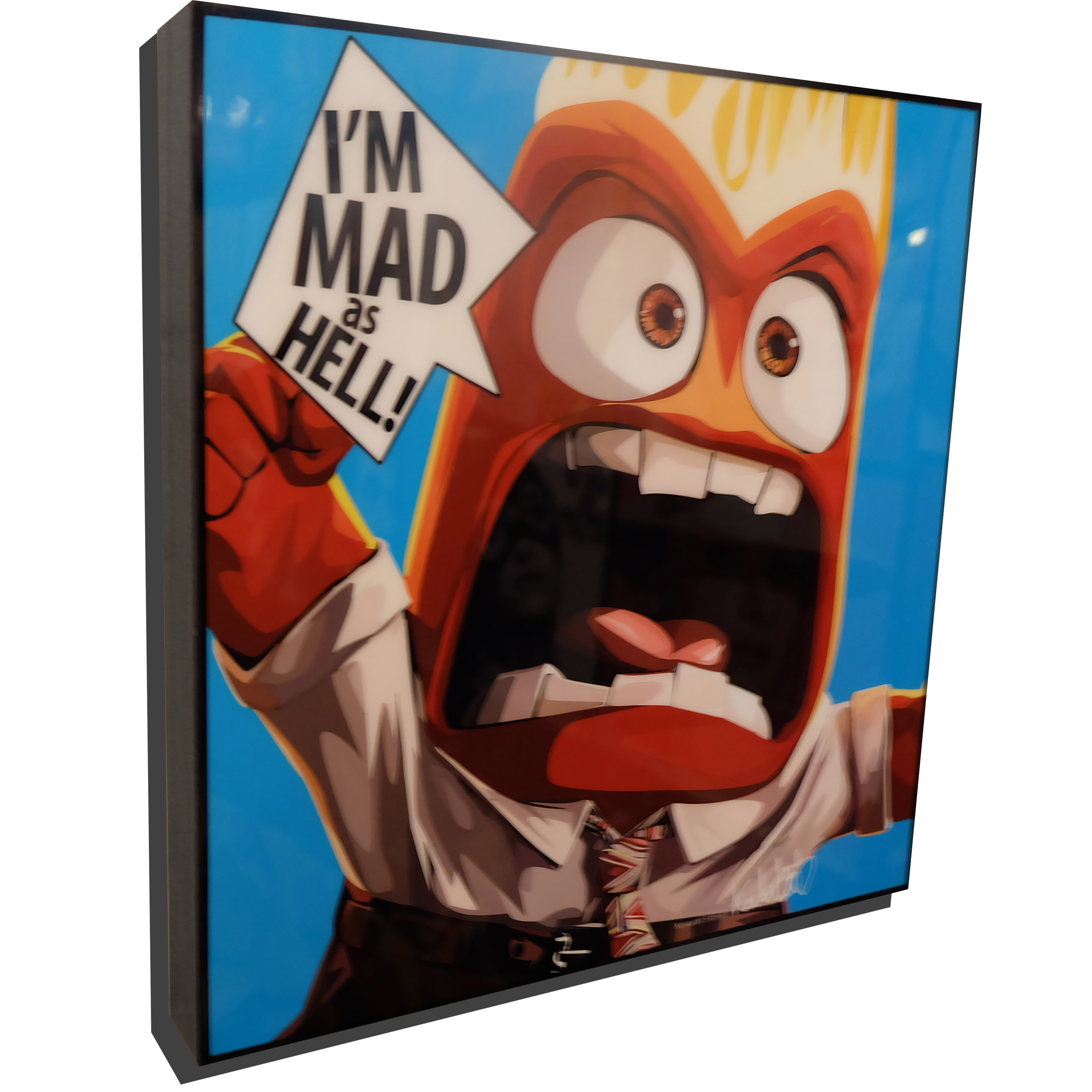 Anger Inside Out Poster I M Mad As Hell
