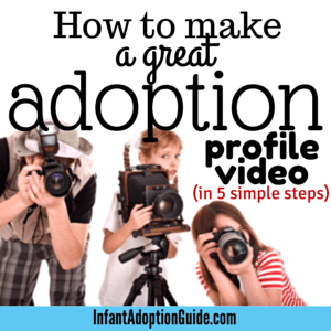 How to make a great adoption profile video in 5 simple steps