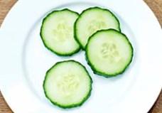 Image result for cucumber 4 slice