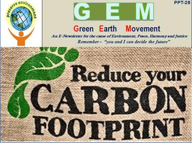 Gem ppt-28- carbon footprints