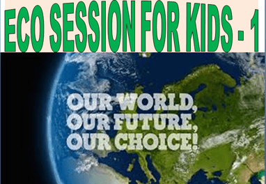 A session for eco kids