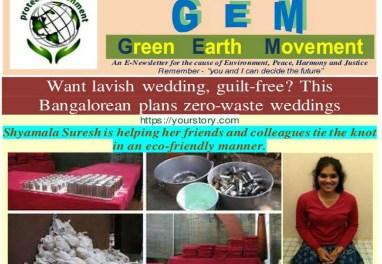GEM-7/21-ZERO WASTE WEDDING