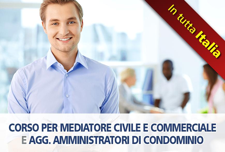 Corso Mediatore Civile e Commerciale – Agg. amministratori di condominio