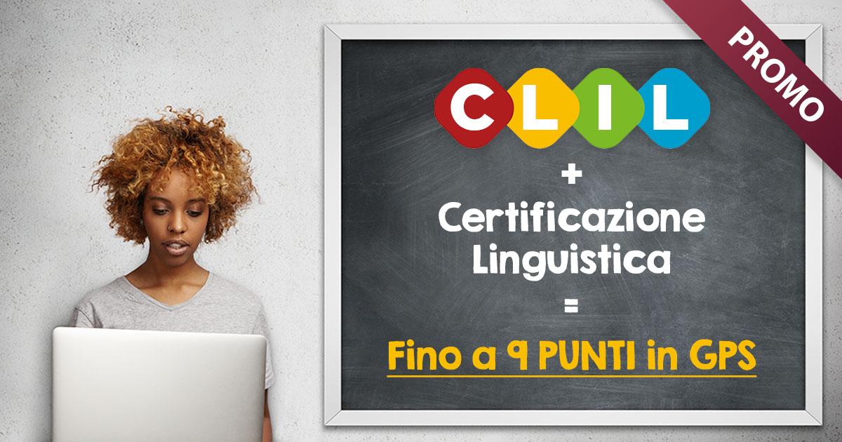 Corso CLIL + Certificazioni linguistiche