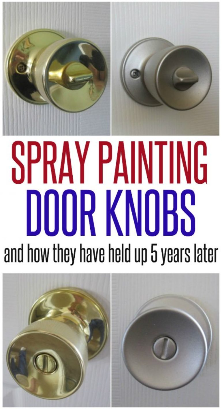Spray painting door knobs infarrantly creative for How to spray paint doors