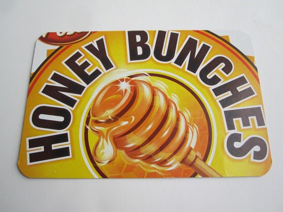 honey bunches of oats postcard
