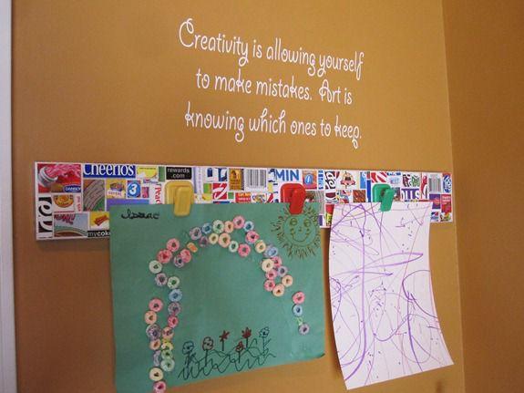 Cereal Box Crafts Kids Art Display Infarrantly Creative