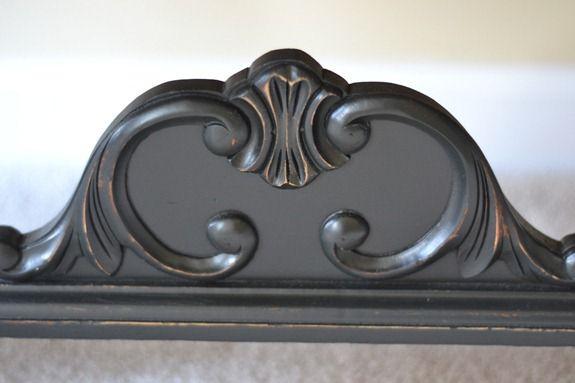 antique sideboard makeover