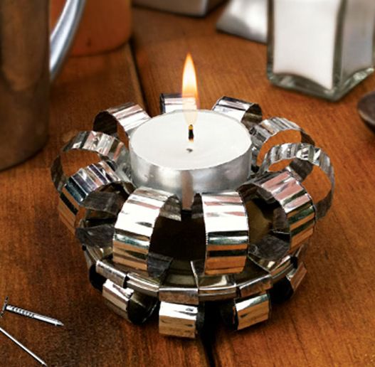 tin-can-tealight candle