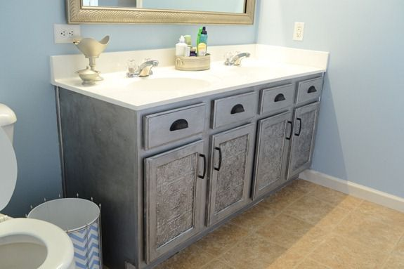 Faux Tin Tile Cabinets (1)