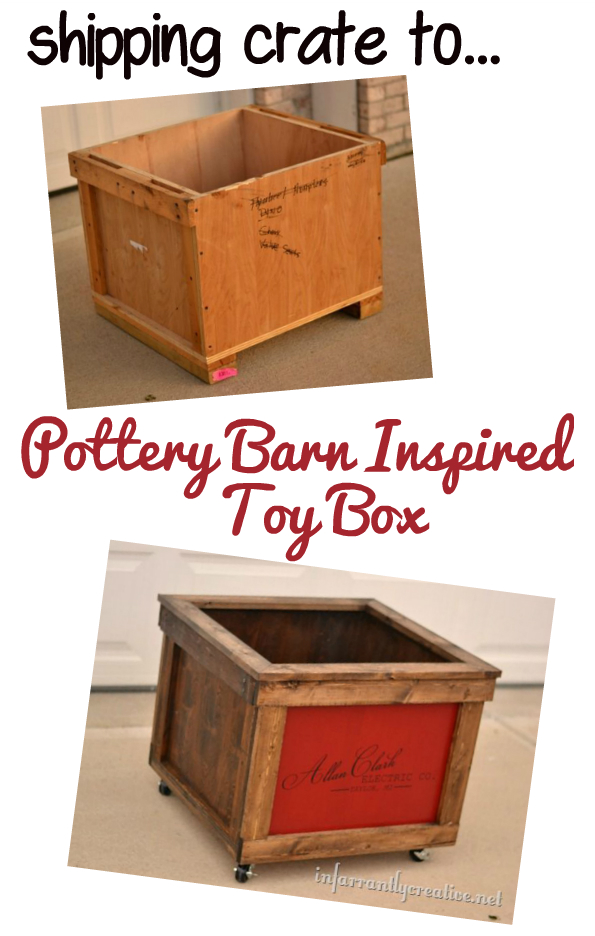 Shipping Crate to Toy Box