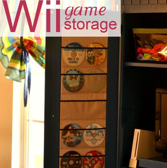 wii game storage