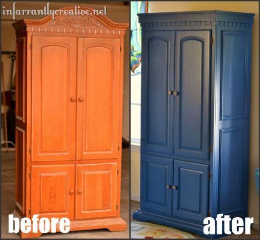 Blue TV Cabinet