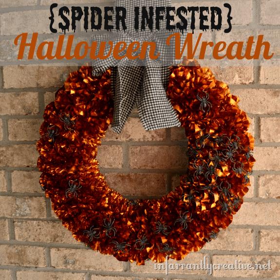 Halloween Wreath - Infarrantly Creative