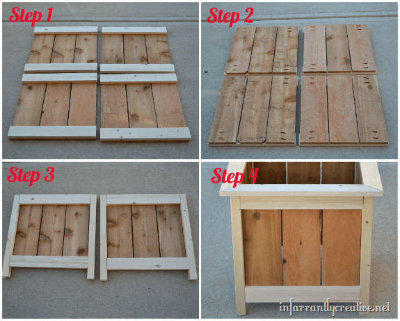 how to make cedar planter