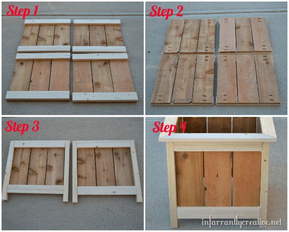 how to make cedar planter