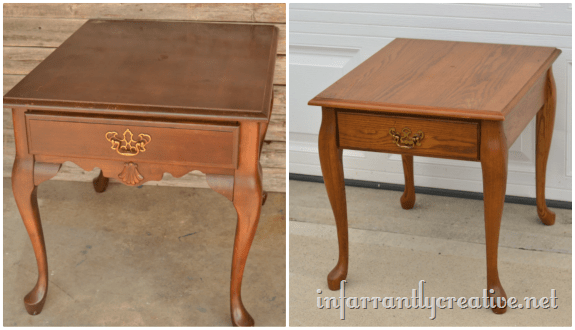 queen anne end table