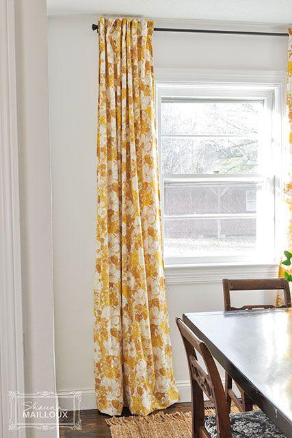 Beautiful Matter sheet curtains