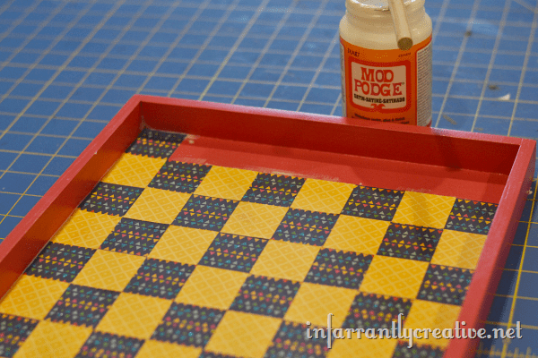 making a checkerboard