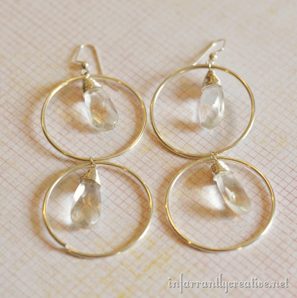 piccadilly anthropologie earrings