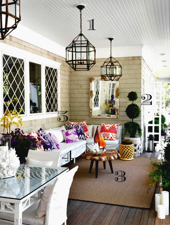 5 Ways to Get This Look:  Summer Porch