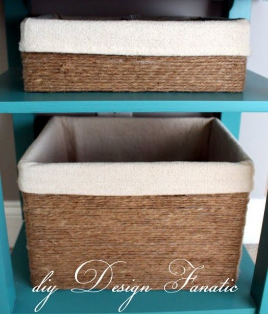 DIY Design Fanatice jute basket
