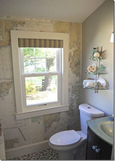 SoPo Cottage map wallpaper