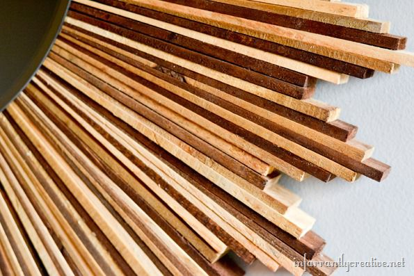 stained wood shims