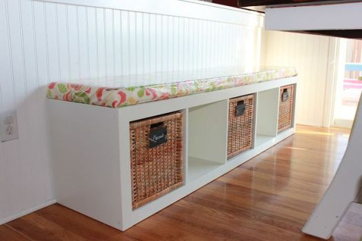 Achieving Creative Order storage bench