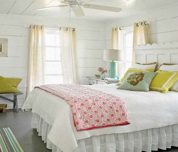 5 Ways to Get this Look: Beach House Bedroom - Infarrantly Creative