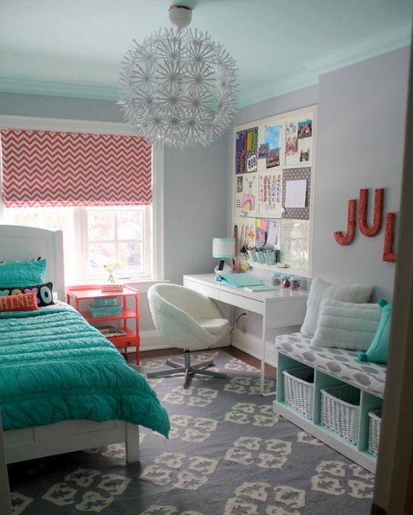 creative inspiration tween girl bedroom.  tween girl bedroom dilemma House of Turquoise Inspiration Photo 5 Ways to Get This Look Small But Fun Tween Girl s Room