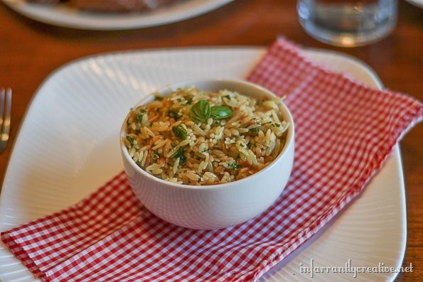 basil parmesan orzo recipes