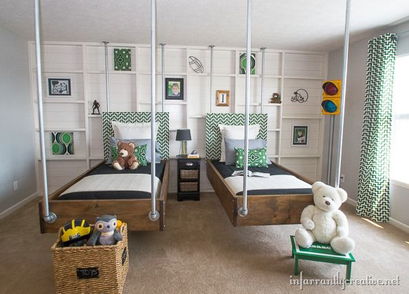 Boys Bedroom Decor Green Black Industrial Room Reveal Impressive Green And Black Bedroom
