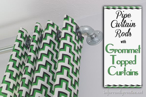 pipe-curtain-rods-with-grommet-topped-curtains