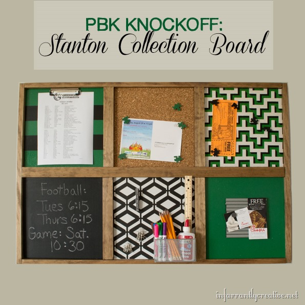 Kids Command Center – Pottery Barn Kids Knock-Off