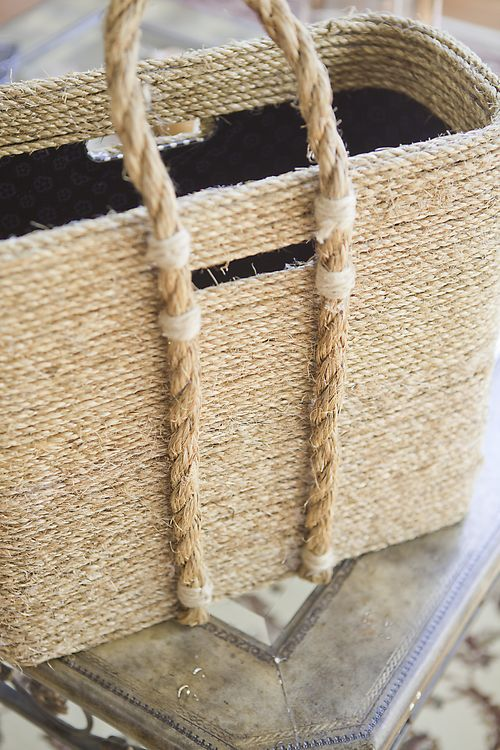 Celebrate Creativity jute basket diy
