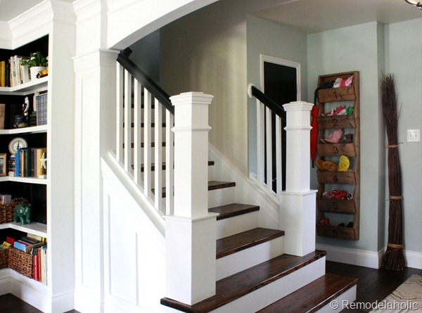 5 ways to get this look farmhouse style staircase for Farmhouse stairs