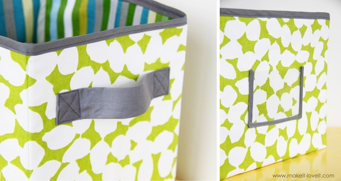 Make It & Love It diy fabric boxes 2