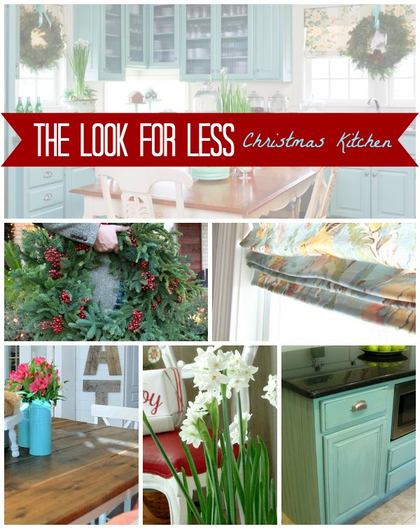 Christmas Kitchen Collage