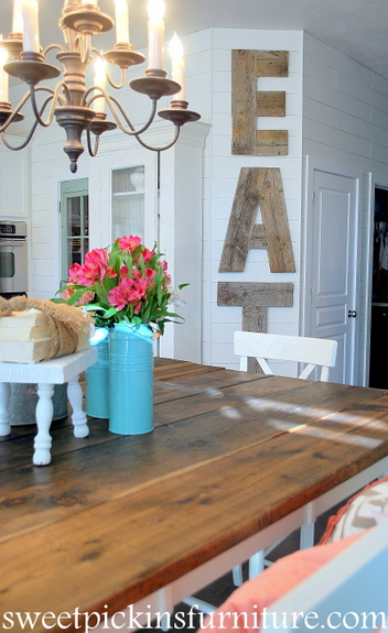 Sweet Pickins Furniture two tone table
