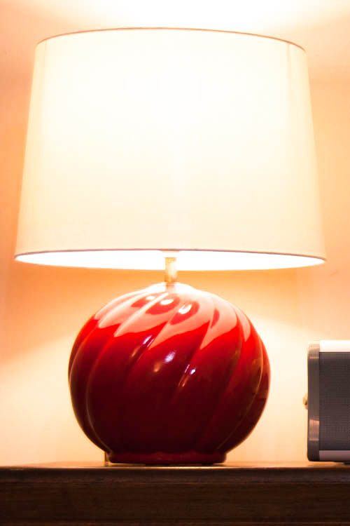 Things to Remember red lamp diy