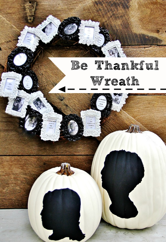 be thankful picture wreath