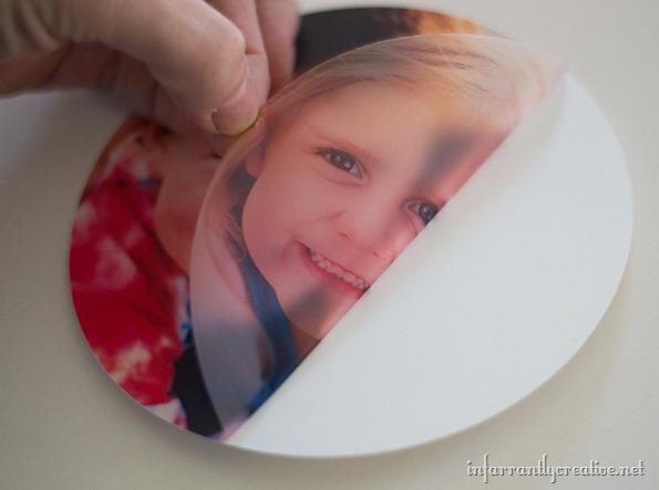 custom photo plate