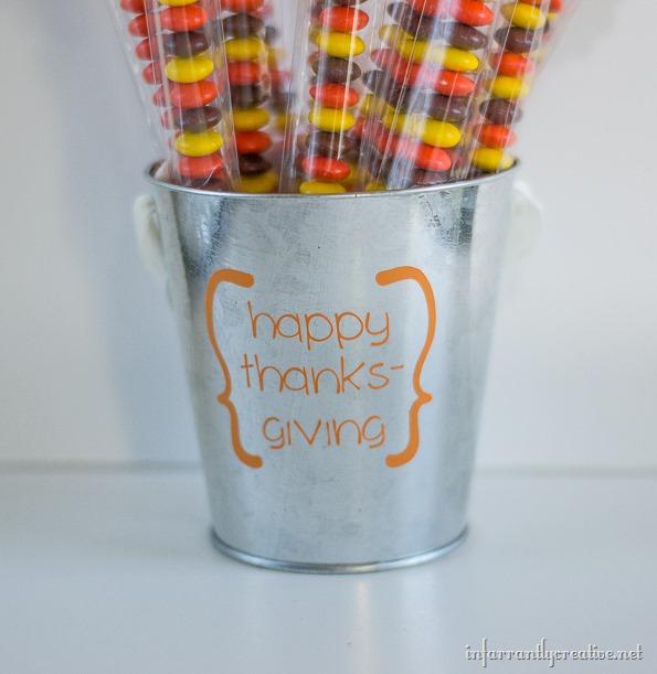 happy thanksgiving pail