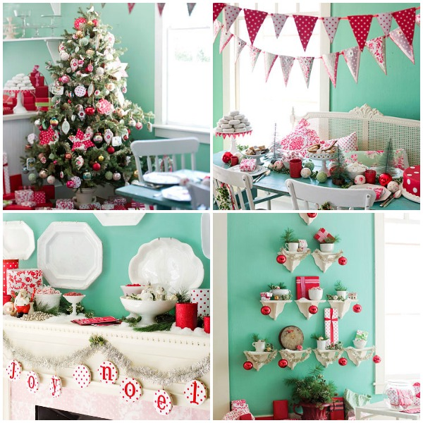 5 Ways To Get This Look Aqua Poppy Christmas Decor Infarrantly Creative