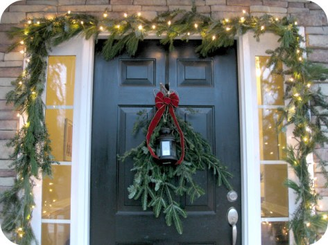 Twenty Something diy evergreen garland