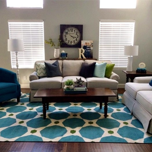 Camille Roskelley Simple Living Room